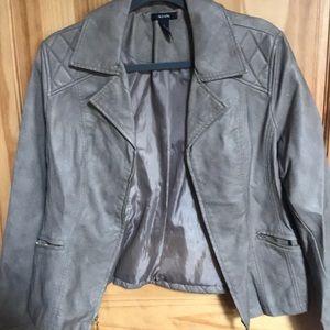 Alfani Leather Jacket w/ Super cute Details